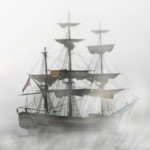 Ghost Ship in the Fog