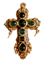 Tucker's Emerald Cross